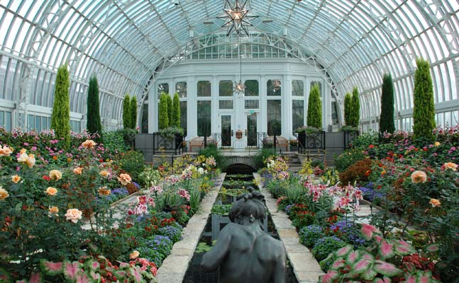 Sunken Garden - Como Park Zoo and Conservatory Como Park Zoo and ...