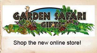 Visit the new online gift store from Garden Safari Gifts!