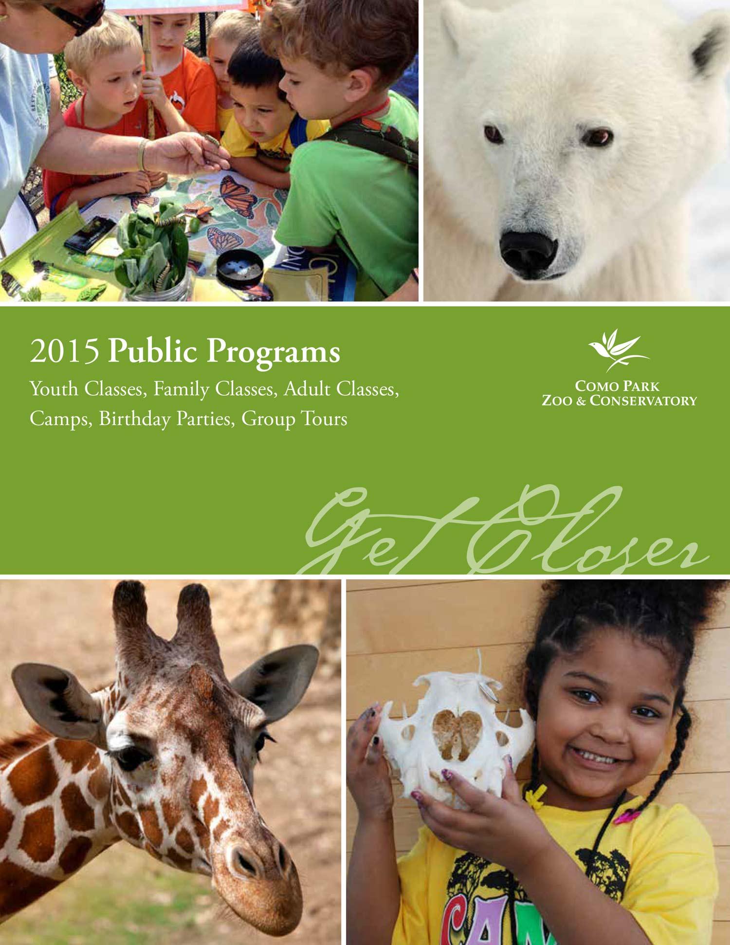 2015 Public Programs Catalog