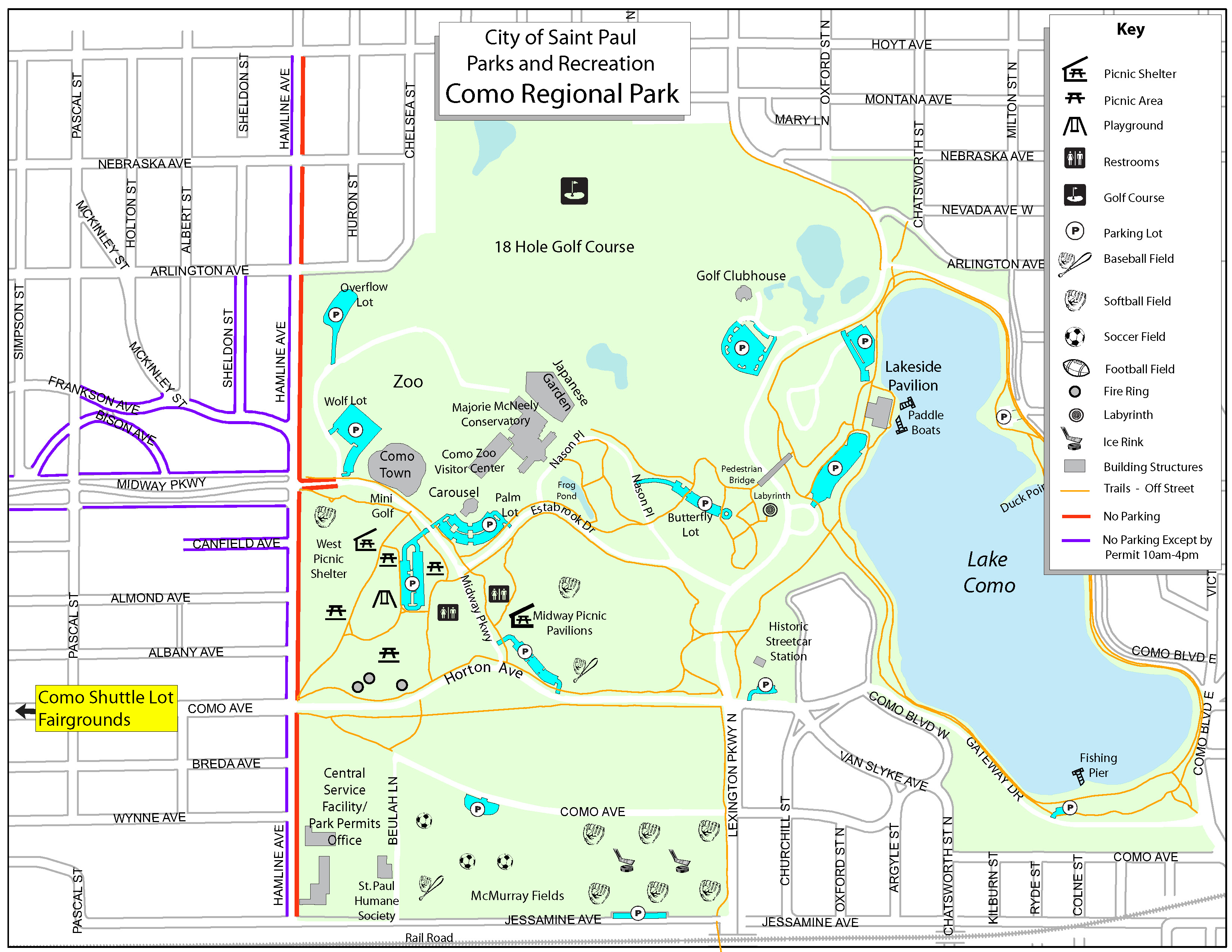 Como Zoo Map Avoid the Parking Challenges, Take the FREE Como Shuttle! Running